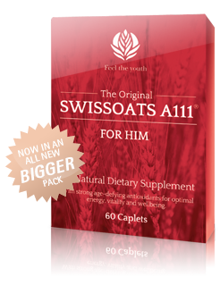 Swissoats andropause prevention. Natural dietary supplement.